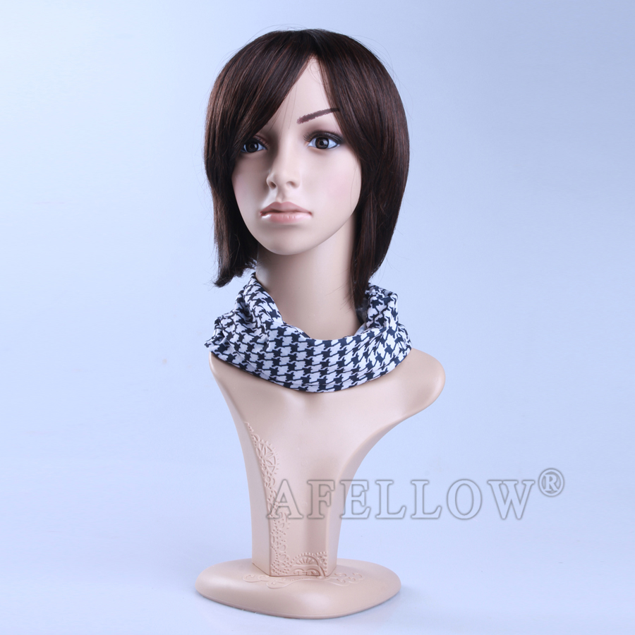Men Dispaly Jewelry/ hat /scarf/wig mannequin head Plastic Male Realistic head manikin,Cheaper Head Mannequin, H1022