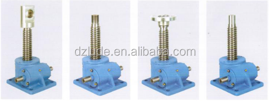 manual screw jack only apply under light shock or vibration condition but
