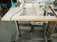 Used Condition Japan 8700-7 LOCKSTITCH sewing machine for Apparel & Textile & Leather factory Use