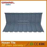 Wanale Factory Selling Roofing shingles aluminium zink steel roof tile