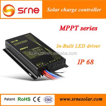 srne mpc2415 mppt series intelligent solar charge