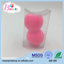 2016 Hot Sale New Dumbbell Shape Makeup Sponge Foundation Puff Flawless Powder Egg Surface/Beauty Makeup Sponge Free Sample