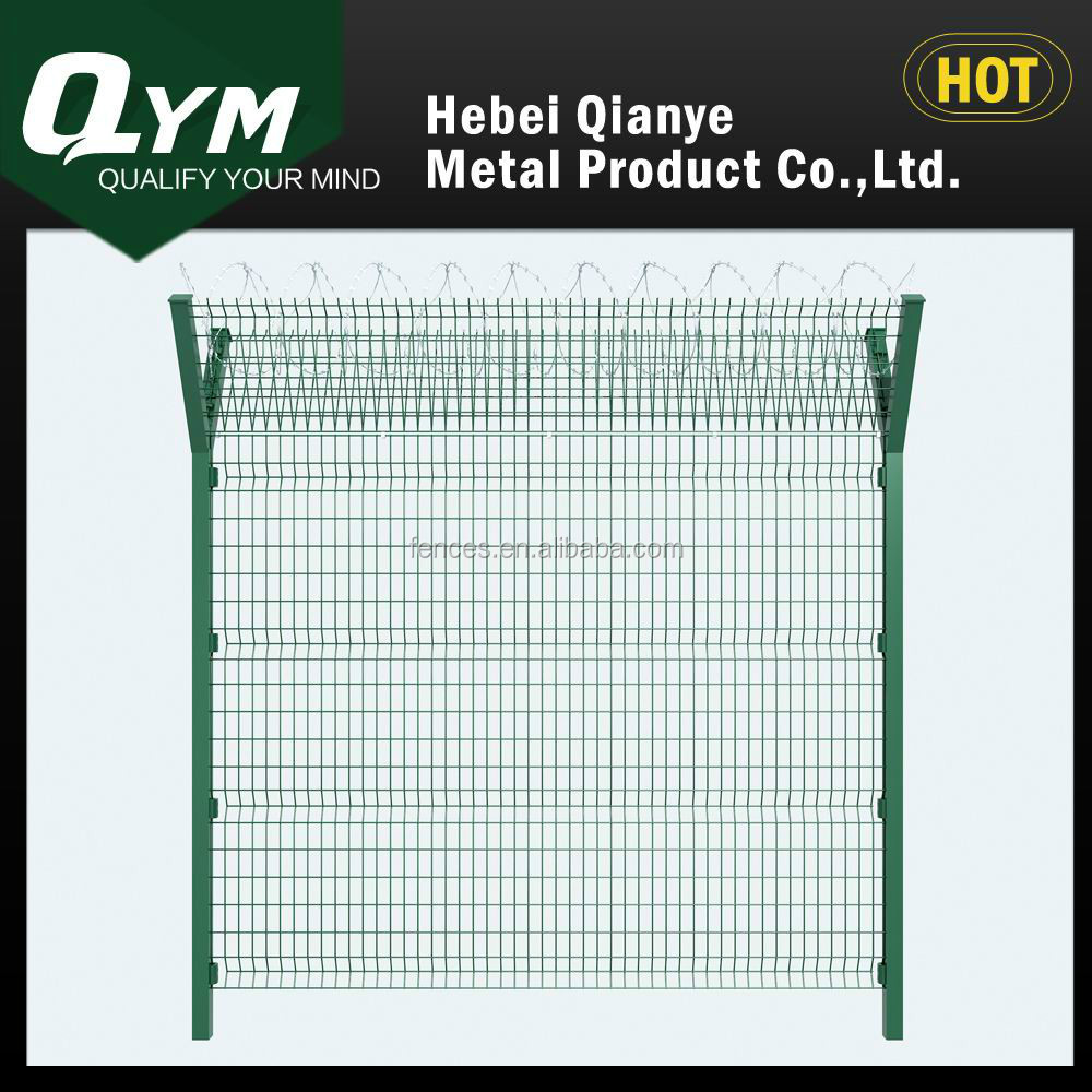 Galvanized Airport Fence with Low Carbon Steel Wires