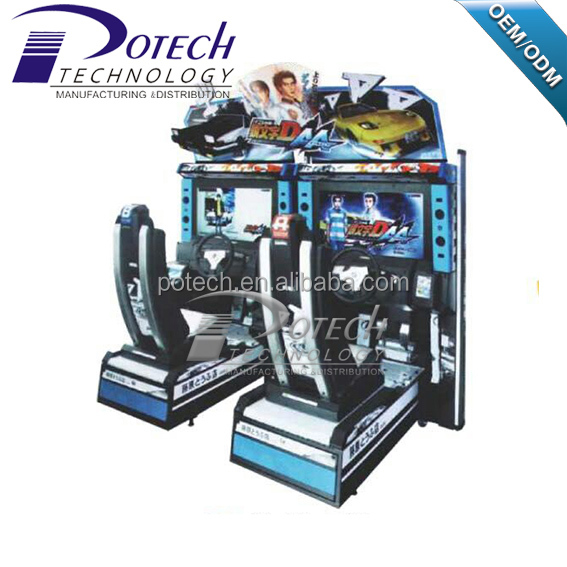 32 inch Initial D 5 HD LCD arcade game car racing game machine