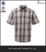short sleeve 100%cotton men shirts