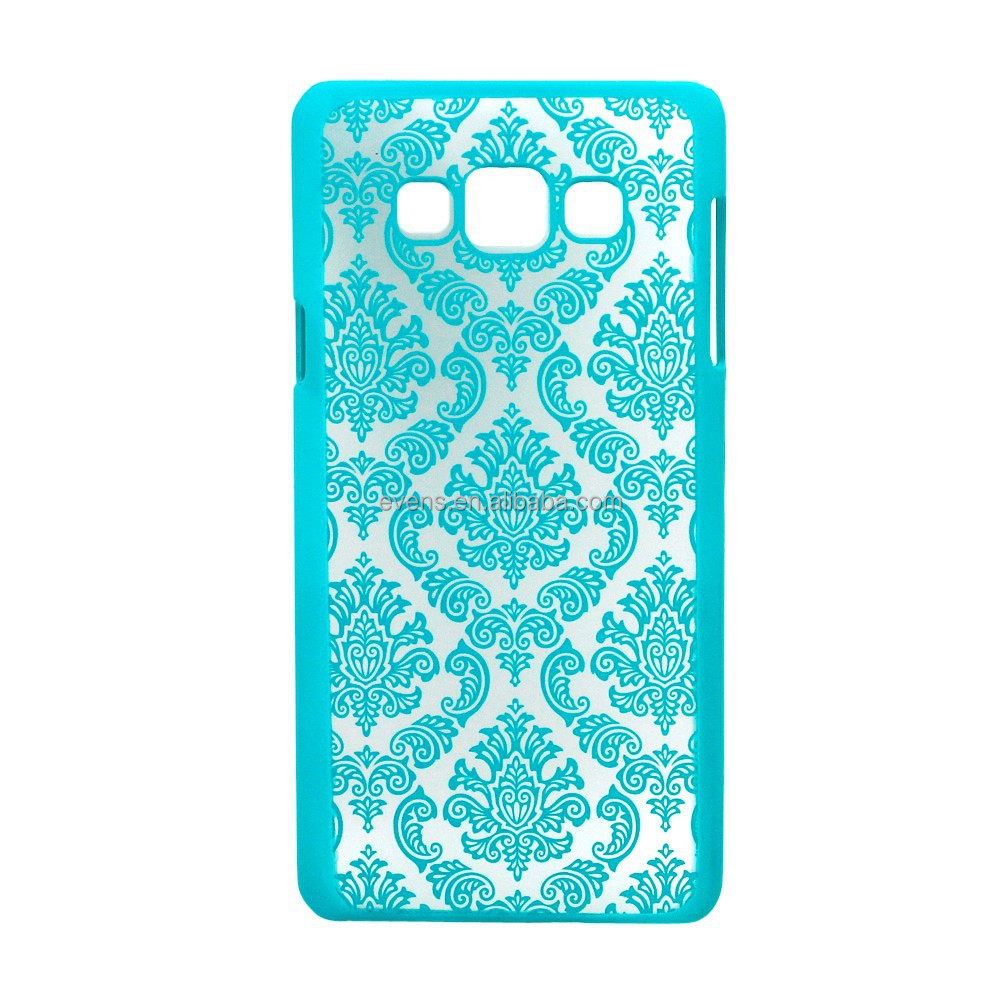 New 2016 For Samsung Galaxy Note 3 N9000 Vintage Black Paisley Flower Hard Floral Plastic Back Cover Case
