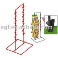 Double Counter Potato Chip Stand / Snack Display Rack / Clip Strip
