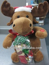 Christmas animated electronic plush toys
