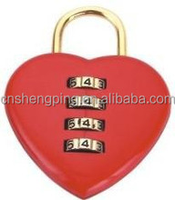 Cute Combination Love Padlock for door (J-8026A)