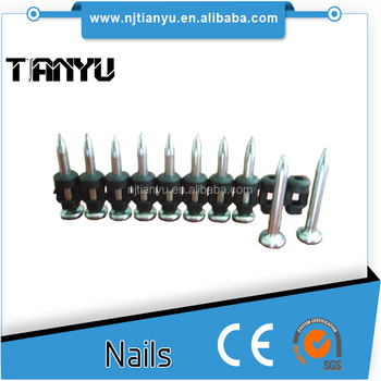 TImber to concrete /steel concrete nails