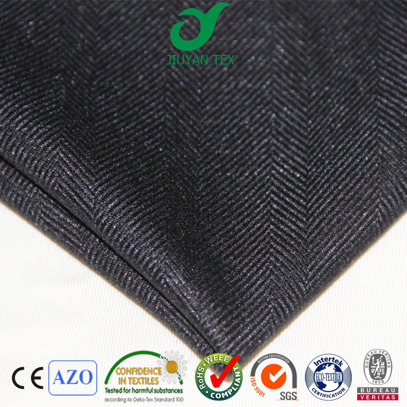 Heavy trw superfine quality tr wool blend cashmere herringbone glitter man luxurious suiting coat fabric cheaper price in China