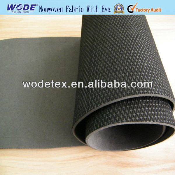 2017 Good Quality Nonwoven Fabric With Eva For Shoe Making