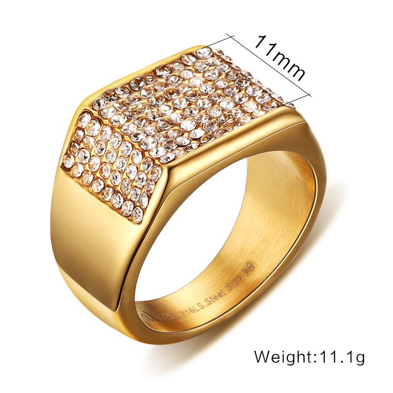 Latest Gold Finger Rings Designs For Mens