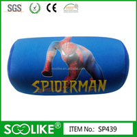 Spiderman pattern microbeads cushion for gift
