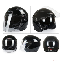 Various Good Quality ABS Open Face Motorcycle Helmet