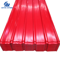 AIYIA Color Zinc Coating 28 Gauge Corrugated Metal Din Steel Roofing Sheet Tiles For Roofing Panel