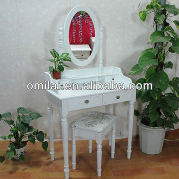 European style luxurious make up table dressing mirror