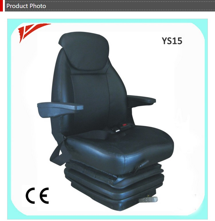 Universal Seat Armrest With Suspension Black Color