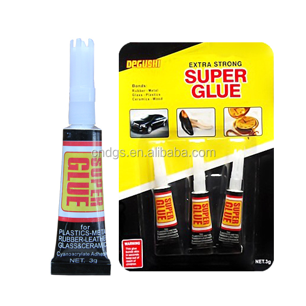 3pack chemical adhesive on blister card