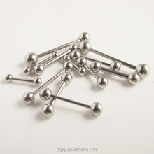 2016 Stainless Steel Barbell 16G labret ring Ear Nail Rings Tongue Nipple piercing Barbell