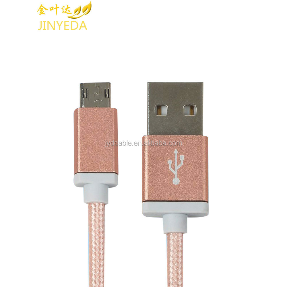 Jinyeda USB cable supplier double sided OTG USB cable for android phone charging