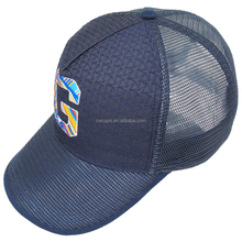 Customized design snapback truck cap 5 panel baseball cap with woven front panel