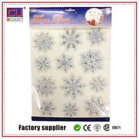 Merry Christmas Adhesive removable 3D import wall sticker