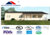 American standard modular prefabricated house MM with solar system