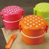 Professional bento lunch box manufacturer,microwave Mini kids lunch box with fork