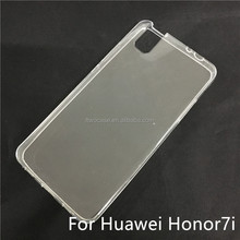 Soft TPU Silicon Transparent Clear case for Huawei Honor 7i