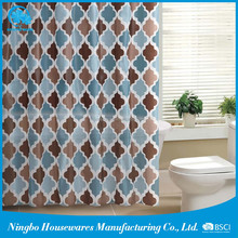 High Quality Cheap Custom bath shower windows curtain