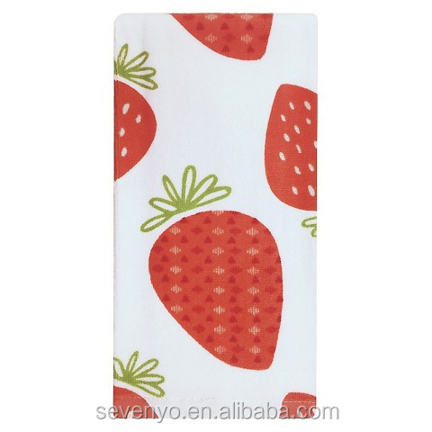 100%cotton bath Towel Printed Strawberry bt-049