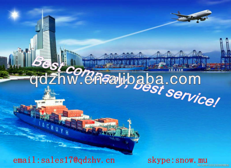 global clearing and forwarding company/FCL and LCL sea shipping/from qingdao to inchon