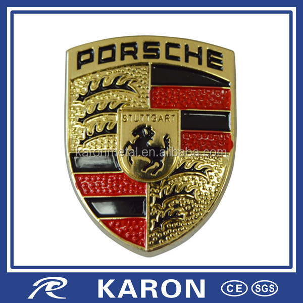 quality custom made luxury car emblem in zinc alloy