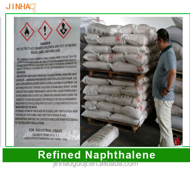 Industrial Naphthalene Flakes or refined naphthalene powder