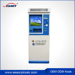 Factory Cash Acceptor Money Exchange Payment Machine Wall Mounted Card Dispenser Kiosk Mahcine