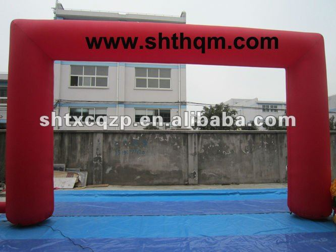 2012 Hot red event inflatable arch