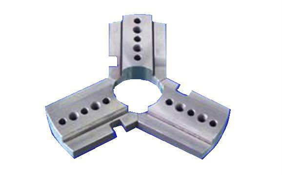 three claw chuck/ custom made metal machine parts / jig and fixture parts / custom mechanical parts