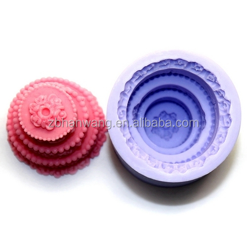 Birthday Decorative FDA Approved Silicone Candle Molds