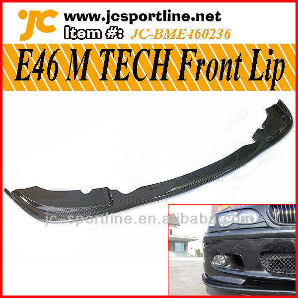 E46 M TECH Front Carbon Lip For BMW E46 HM Style