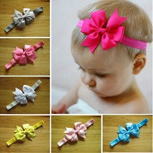 20 colors in stock baby hair accessories <strong>headbands</strong> ribbon bows <strong>headband</strong> for baby