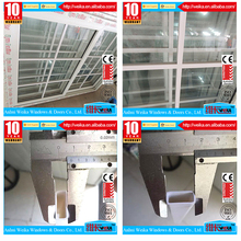 As your requirement 100% PVC grills profiles Length customized for sliding window pvc profile