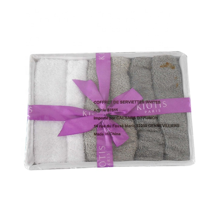 6pk promotional towel for gift of 100%cotton material
