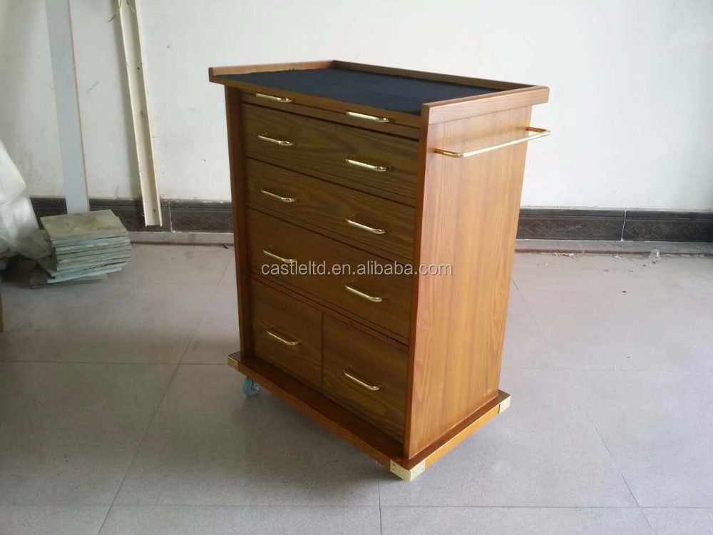 Rolling Storage Cabinet,wood gun cabinet,Gun storage chest