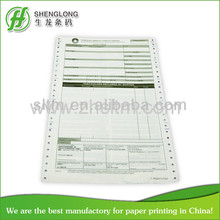 warranty claim form printing paper