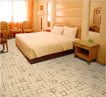 Guangzhou Custom Lattice Design Axminster Carpet For Hotel
