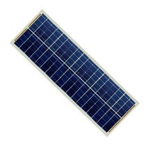 Small solar panel kit 12v 2*18 36cells solar panel 30w