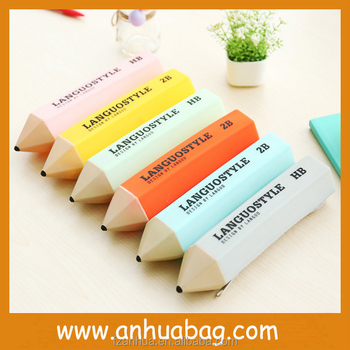 Cute Pencil Shape Pencil Case