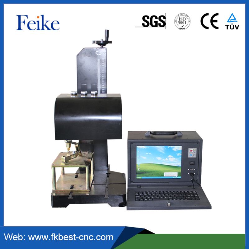 gold and silver fiber laser marking or engraving machine