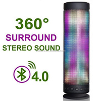 2016 VOSOVO super bass wireless led bluetooth speaker 10w with CE,RoHs